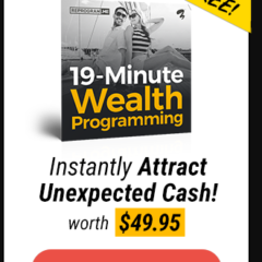 Instantly Attract Unexpected Cash