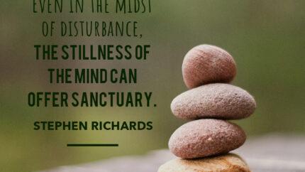 Stillness of the minds